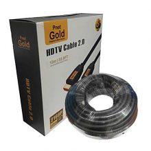 کابل HDMI ورژن ۲٫۰ پی نت گلد ۱۰ متری (PNET GOLD)