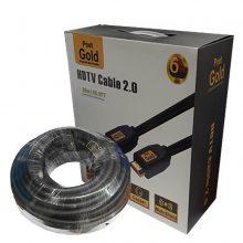 کابل HDMI ورژن ۲٫۰ پی نت گلد ۲۰ متری (PNET GOLD)