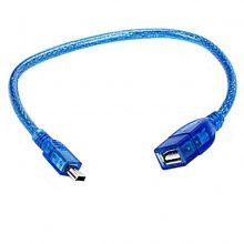 کابل ذوزنقه به USB مادگی 30 سانتی (PNET)