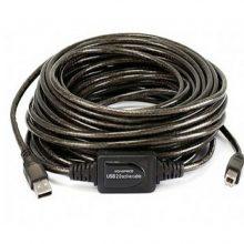 کابل پرینتر برددار ۱۵ متری USBپی نت (ACTIVE)