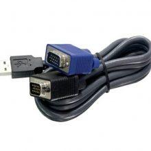 کابل KVM پی نت ۱٫۵متری (USB)