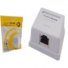کیستون باکس CAT5E FTP پی نت پلاس ۱۰۰-۲۰ تک پورت (PNETPLUS)