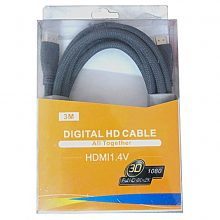 کابل HDMI فراتک ۳ متری ورژن ۱٫۴ -faratech HDMI cable v 1.4 -3 M