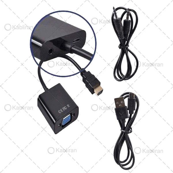 تبدیل-HDMI-به-VGA-پاودار
