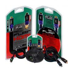 کابل HDMIفلت ورژن ۲٫۰ کی نت پلاس ۱۵متری (KNETPLUS-FLAT)