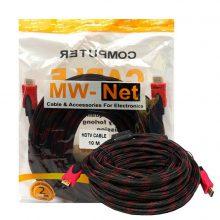 کابل 10 متری HDMI برند MW-Net