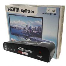 اسپیلیتر 4 پورت HDMI  پی نت