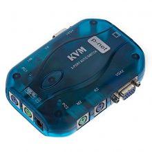 KVM سویچ ۱ به ۲ اتوماتیک PS2 پی نت (PNET)