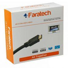 کابل HDMI فراتک ۱۰ متری ورژن ۲ -faratech HDMI cable  v 2 -10 M