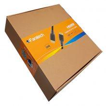 کابل HDMI فراتک ۱۰ متری ورژن ۱٫۴ -faratech HDMI cable v 1.4 -10 M
